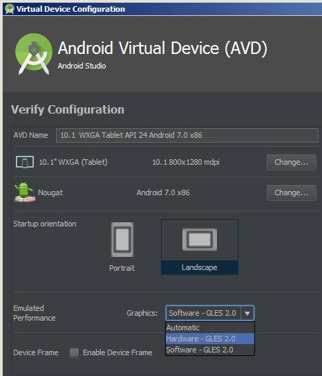 Android emulator hanging with black screen – Jan